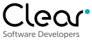Clear software developers logo
